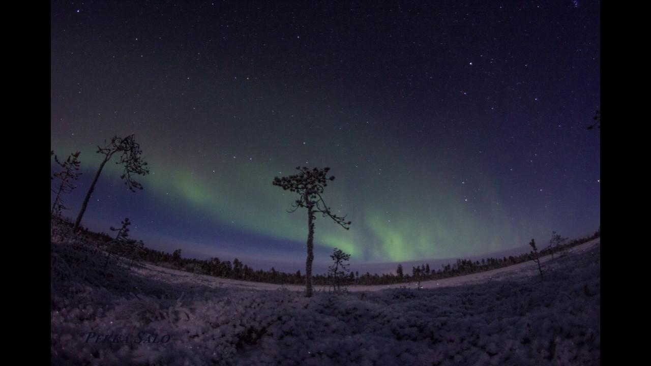 November Northern Lights Finland