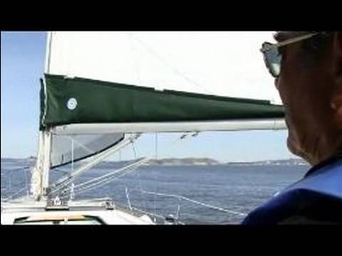 How to Sail a Sailboat : How to Sail a Boat Downwind