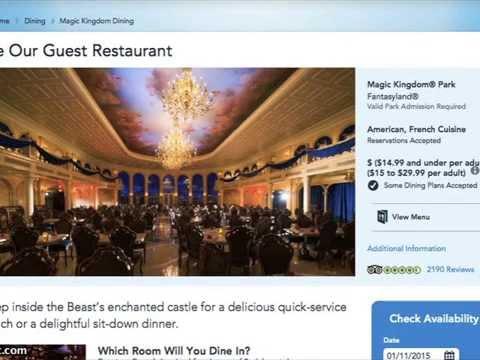 Top 10 Quick Service Restaurants At Disney World