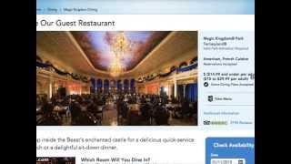 Top 10 Quick Service Restaurants at Disney World