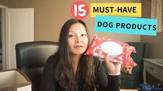 15 Must-Have Dog Products