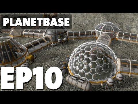 Let's Play Planetbase Episode 10 - Biologist Boom - Version 1.0.3
