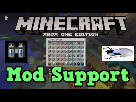 Minecraft Xbox One: Mod Support