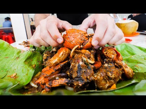 Thumbnail: SPICY STREET FOOD Tour in Jakarta, Indonesia!! BEST MUD Crabs, BBQ Ribs, and PAINFUL Spice!