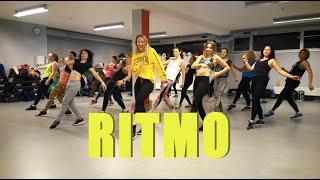 RITMO - The Black Eyed Peas, J Balvin - Zumba Choreography | Zumba Vilniuje | Zumba Auguste