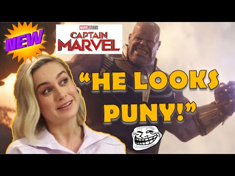 """BRIE LARSON, BORED LOOPTY-LOO HOUSEWIFE AS SUPERHERO? """"I can move planets with my strength!"""""""