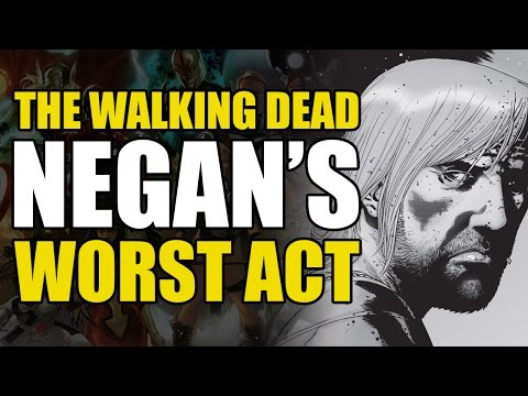 Here's what happens to Jesus! (The Walking Dead Vol 18: What Comes After)