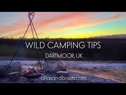 Wild Camping Tips, Dartmoor, UK