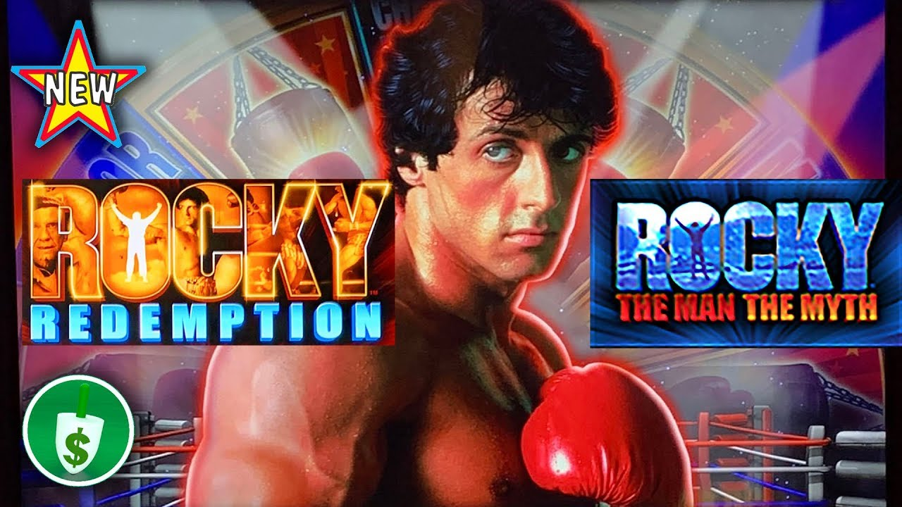 ⭐️ NEW - Rocky Redemption, and The Man The Myth slot machines, bonuses -  YouTube