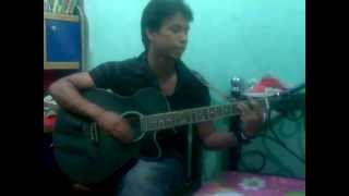 amay dekona with guitar by rayhan
