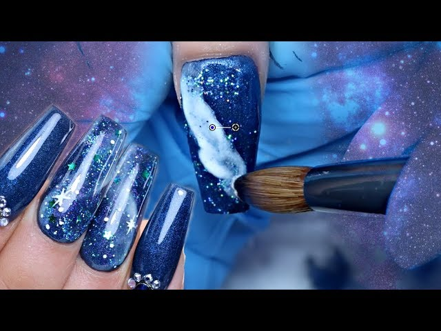GALAXY ACRYLIC NAILS  NEW ONLINE SHOP!!!! | GLITTERBELS ACRYLIC