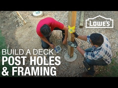 How To Build A Deck | Post Holes & Framing (2 Of 5)