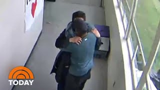 Coach Disarms Student, Then Hugs Him: Caught On Camera   TODAY