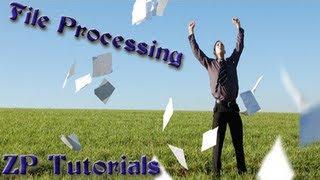 zennoposter 5 tutorials (file processing)