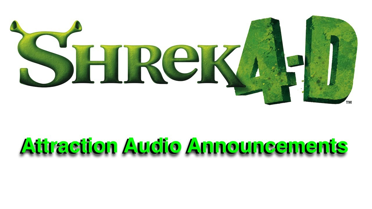 Universal Studios Orlando Globe Not Spinning Roblox Shrek 4 D Attraction Audio Announcements Universal Studios Hollywood Youtube