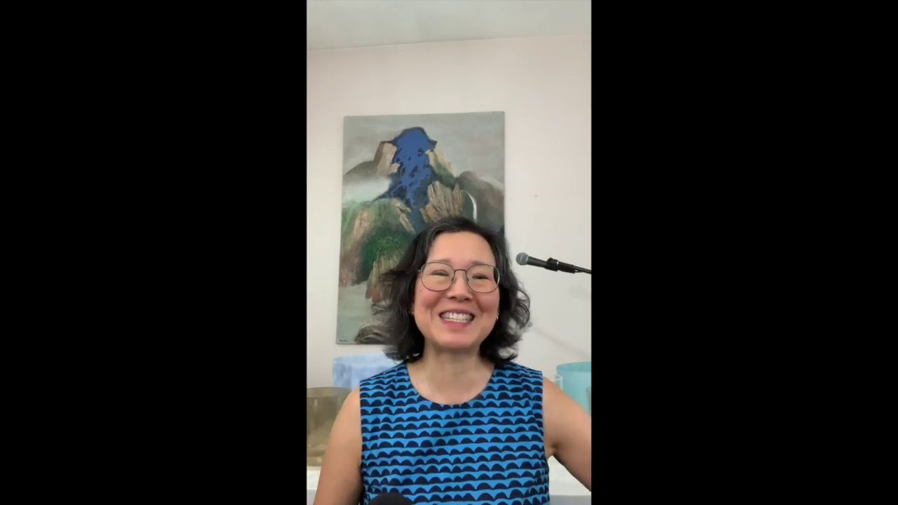 A quick thought....upcoming workshop: Sound Meditation 8.20.2020.  Register at www.BernadetteYao.com