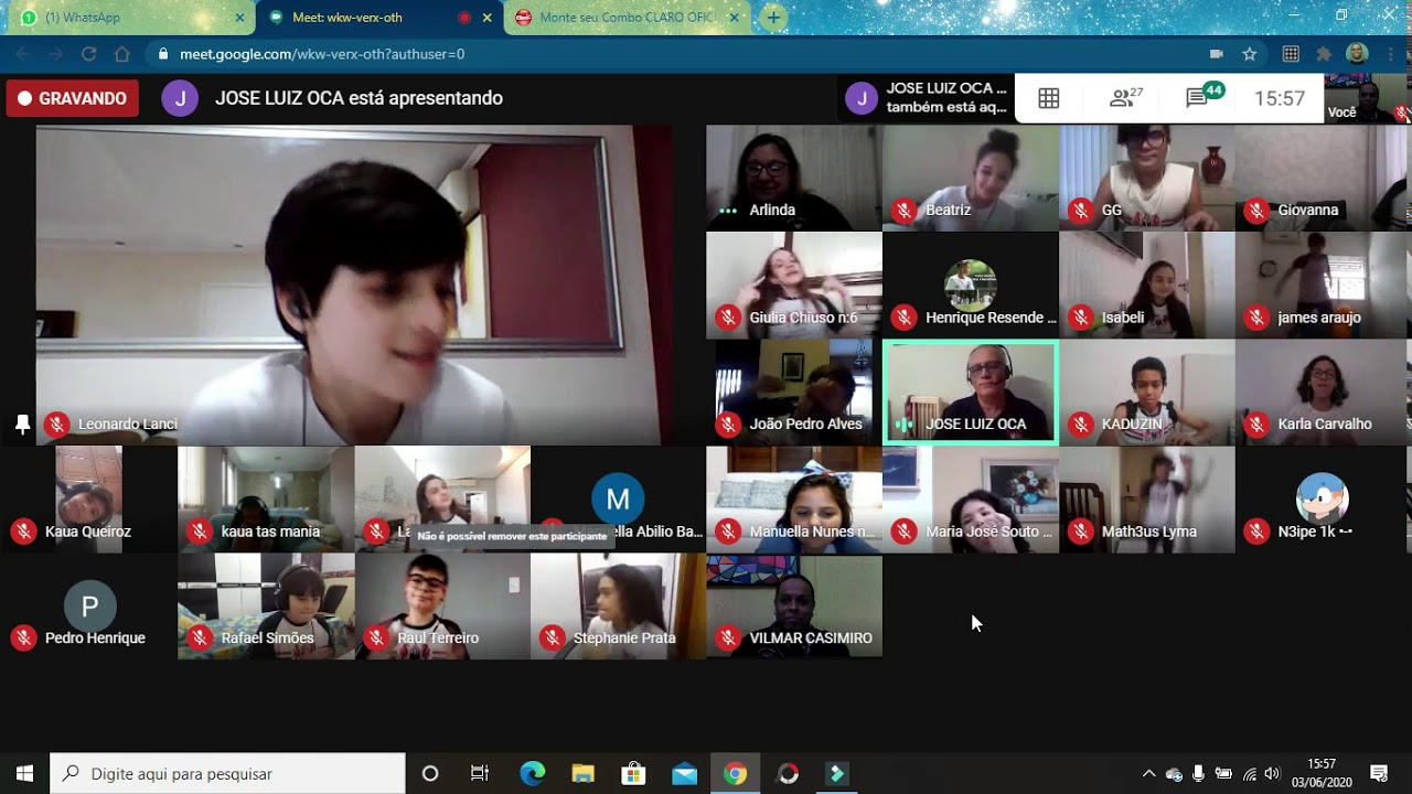 Aula Virtual De Ed Física Do 6 º Ano Do Colégio Santa Cecília 2020 Youtube