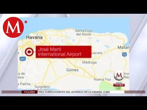 ¿Dónde cayó el avión de Cubana de Aviación?