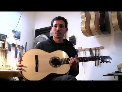 New Flamenco Blanca Guitar by Master Luthier Erez Perelman
