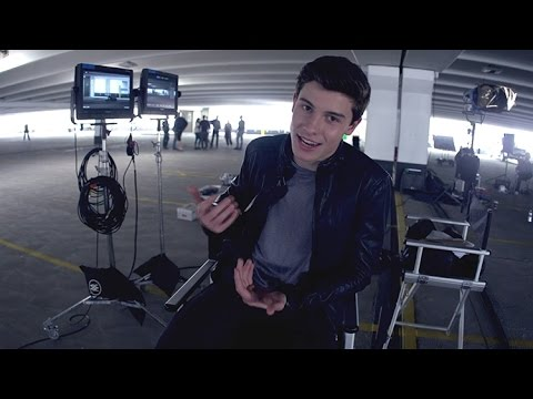 "Thumbnail: Shawn Mendes - ""Stitches"" Official Video [Behind The Scenes]"