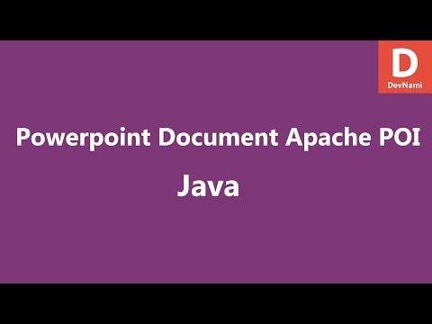 create-powerpoint-file-java-apache-poi