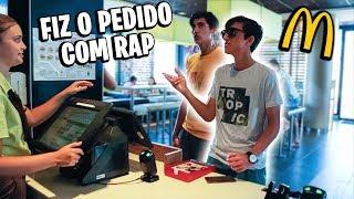 PEDINDO MCDONALD'S COM RAP