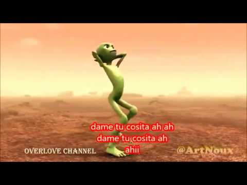 Alien Popoy dame tu cosita video + letra
