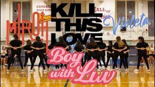 [KASA] Stray Kids/IZ*ONE/BLACKPINK/BTS Cupertino High School Senior Send Off Rally 2019