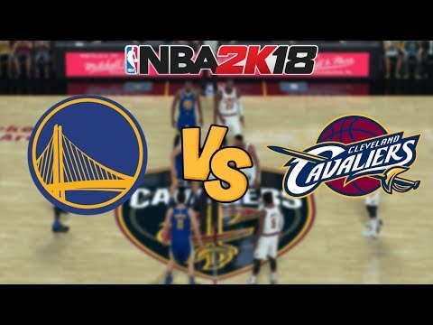NBA 2K18 - Golden State Warriors vs. Cleveland Cavaliers - Full Gameplay