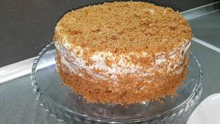 Без духовки на сковороде Вкуснейший торт за 15 минут понравится всем