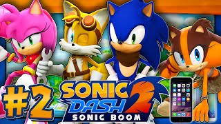 Sonic Dash 2: Sonic Boom - Part 2 EXTRA CHARACTERS! (IOS, Android) screenshot 4