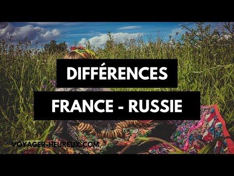 Deux différences entre la Russie et la France à connaitre avant de partir