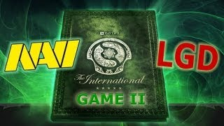 The International 3. Na`Vi vs LGD.cn game 2. Болеем за наших вместе с Dota Discovery(Подписаться: http://www.youtube.com/subscription_center?add_user=mrdotadiscovery ( ͡° ͜ʖ ͡°) ➨ Мы Вконтакте: http://vk.com/dotadiscovery ..., 2013-08-07T08:19:52.000Z)
