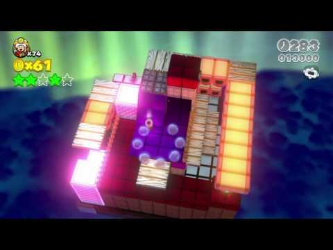 🌴☀ Super Mario 3D World - World 5 All Stars & Stamp 100 % Complete No Commentary Walkthrough
