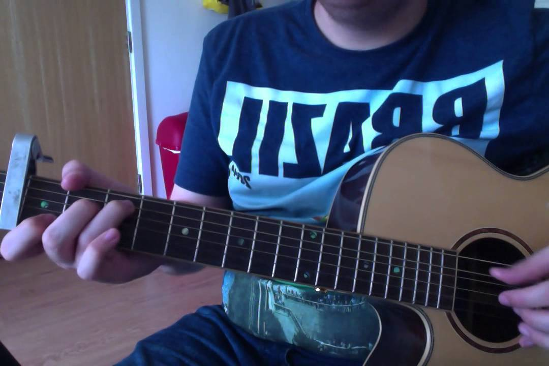 My Silver Lining First Aid Kit Guitar Lesson Youtube