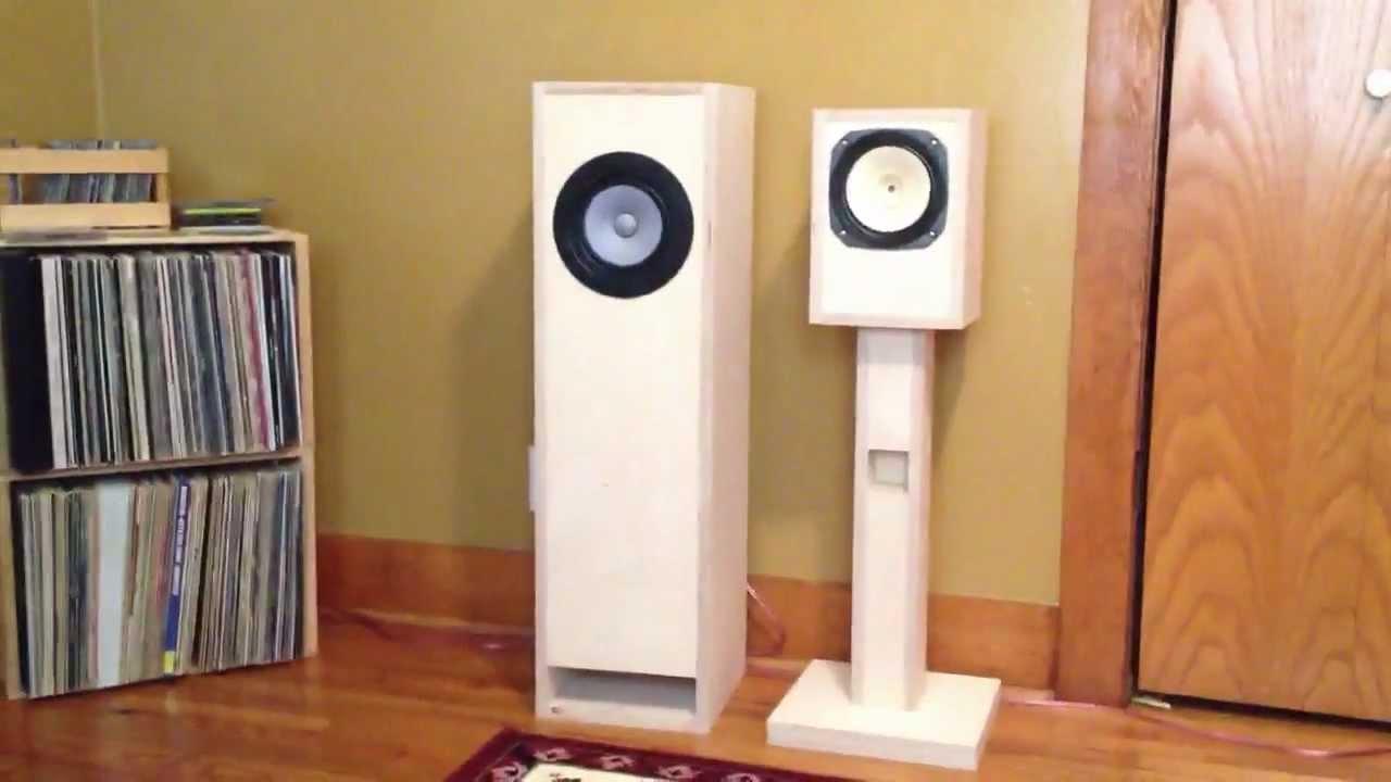 Markaudio Alpair 12P Pensil 122p Speakers  YouTube