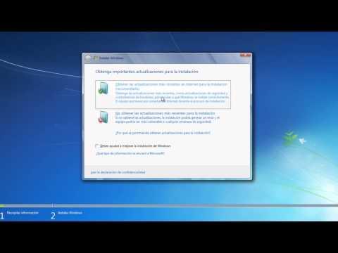 Cómo actualizar Windows 7 de 32 bits a 64 bits