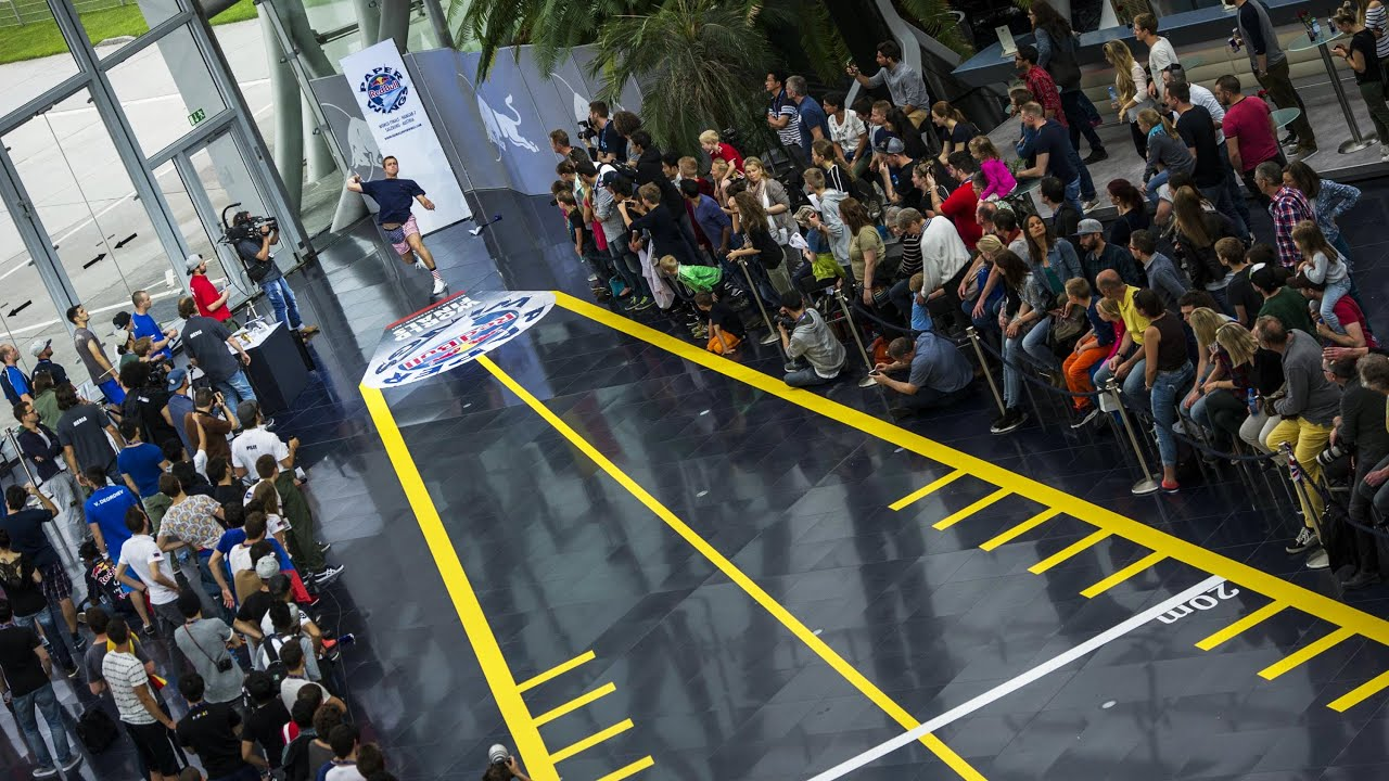Papercraft Paper Airplane World Championship - Red Bull Paper Wings 2015