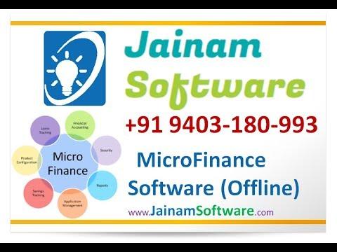 Microfinance Software | Receive Loan Amount Randomly | Jainam Software