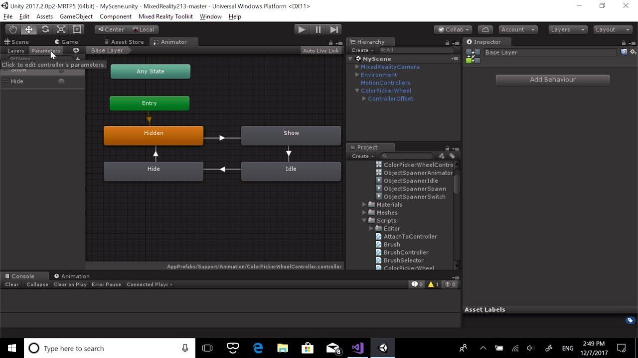 MR Input 213 - Mixed Reality | Microsoft Docs