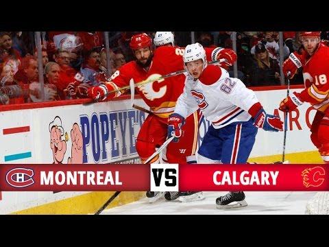 Montreal Canadiens vs Calgary Flames   Season Game 68   Highlights (9/3/17)