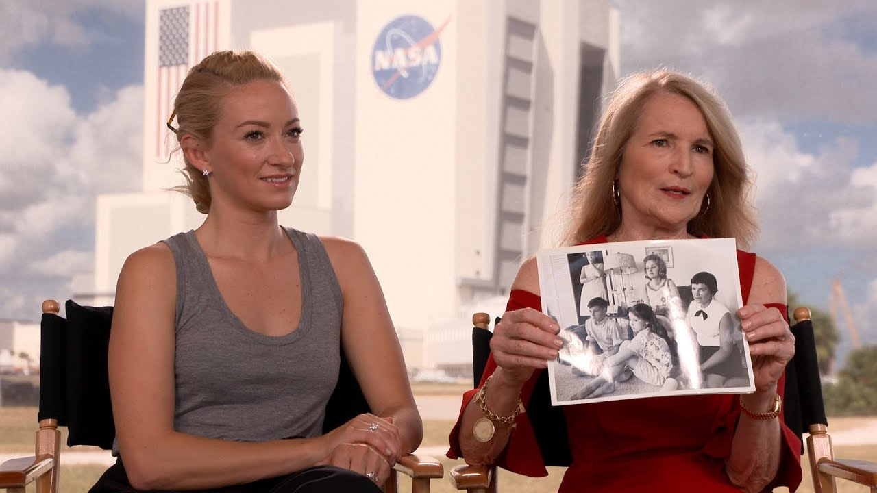 Daughter of Astronaut Ed White Talks 'First Man' and Dad's Spacewalk! - YouTube