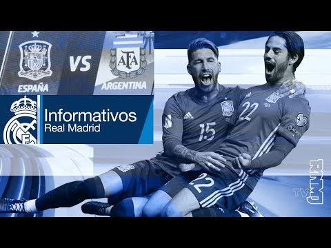 Real Madrid TV Noticias (28/03/2018) Informativo goleada a Argentina