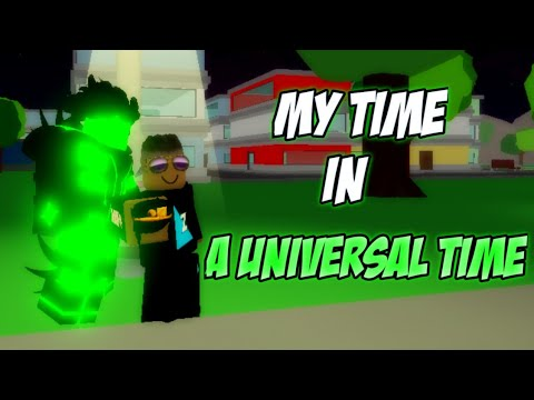 My Time In A Universal Time Roblox Aut Youtube Time is part of the measuring system used to sequence events, to compare the durations of events and the intervals between. my time in a universal time roblox aut