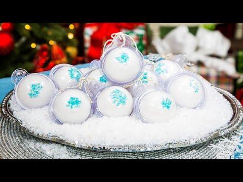 DIY Snowball Bath Bombs - Home & Family