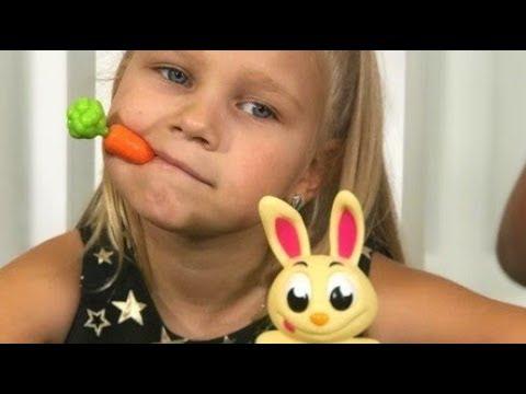 ВЫДЕРНИ МОРКОВКУ !!! Играем в ПРИКОЛЬНУЮ игру для всей семьи Развлечение для детей - Видео приколы ржачные до слез