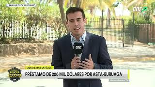 El defensor Asta-Buruaga firmó contrato este viernes con U. Católica