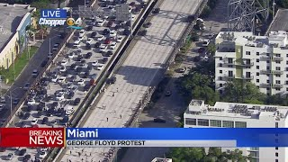 Protesters Stop Traffic On I-95