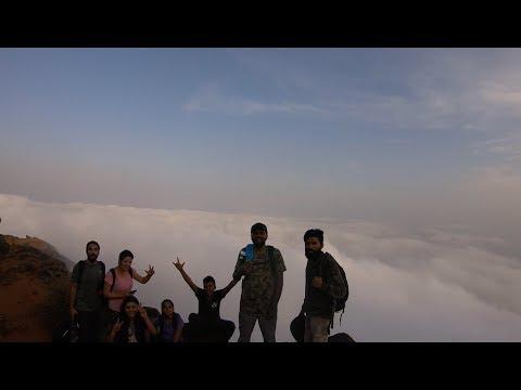 Group Trekking to Kodachadri Karnataka | Hidlumane Waterfalls | Nagara Fort | Time-Lapse