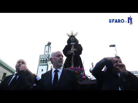 El Medinaceli, arropado en su Traslado - Semana Santa de Ceuta 2017